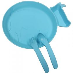 Tableware Set for Children - Blue