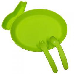 Tableware Set for Children - Green